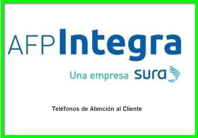 Teléfonos 0800 Afp Integra