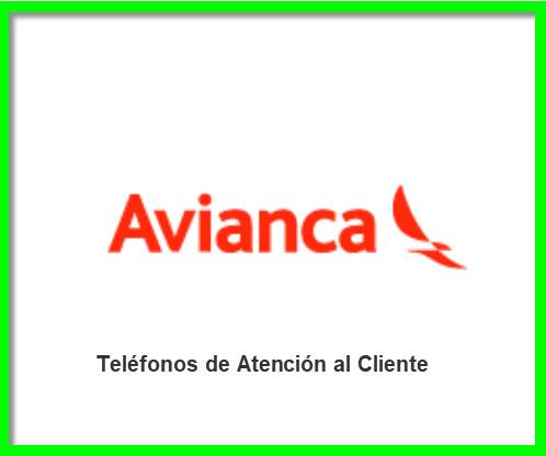 Teléfonos 0800 Avianca
