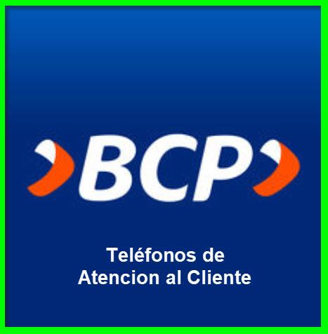 Teléfonos 0800 Banco de Crédito BCP