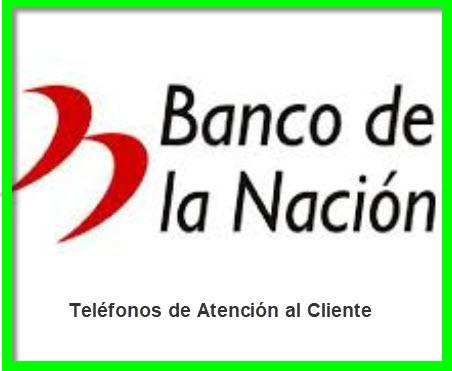 Teléfonos 0800 Banco de la Nación
