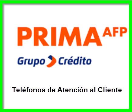 Teléfonos 0801 Prima Grupo Crédito